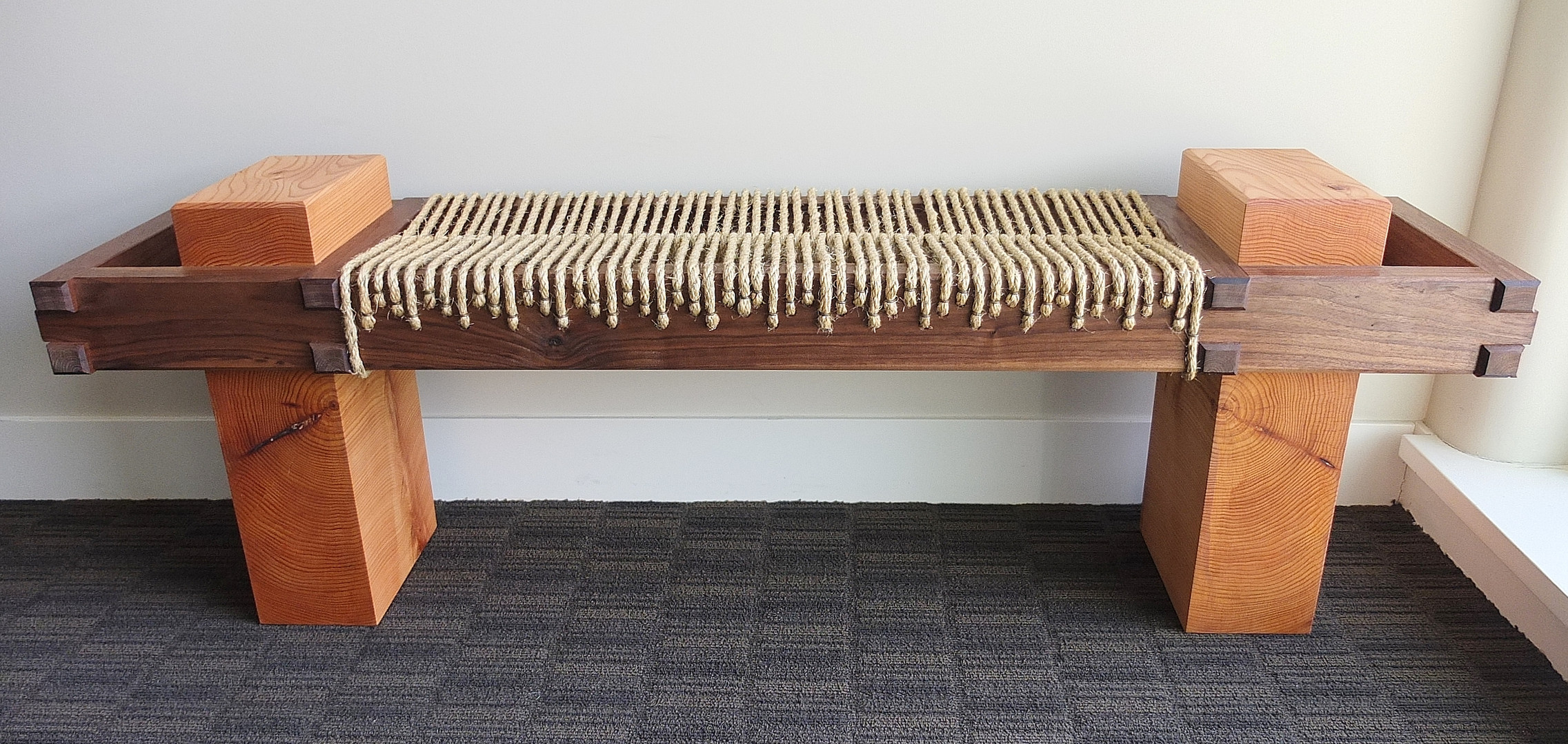 Growth Ring Sitting Bench