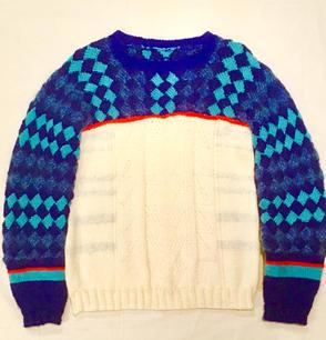 【バスケット編みのスキーセーター】2018