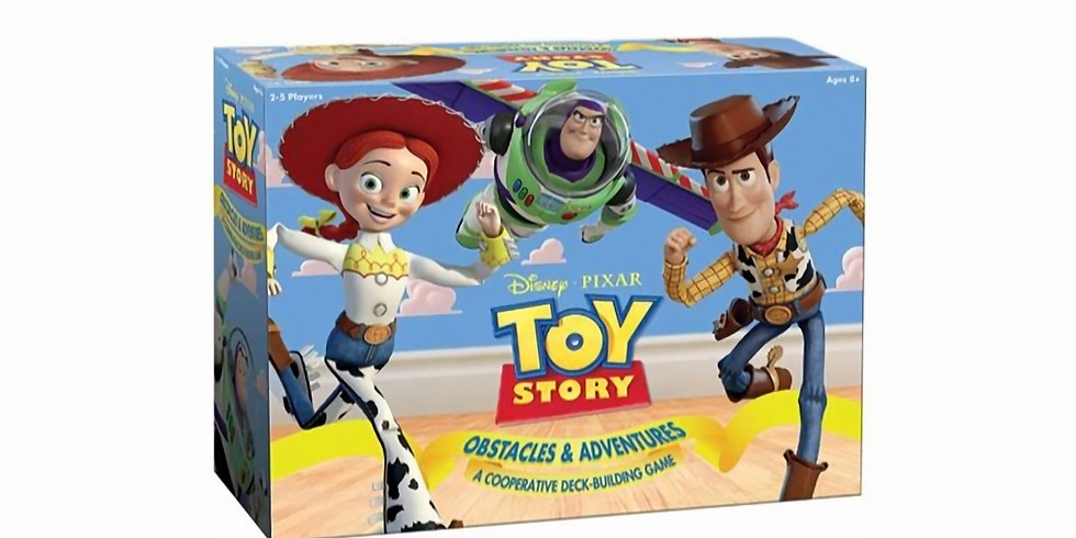 Toy Story Obstacles & Adventures Splash