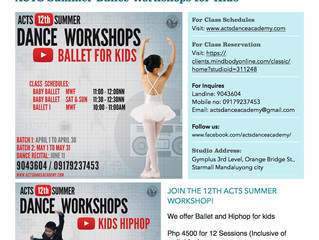 Ballet & Hiphop for Kids: ACTS Academy