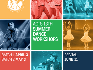 ACTS 13th SUMMER WORKSHOPS