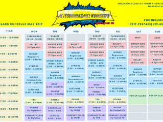 2nd Batch of ACTS SUMMER SCHEDULE