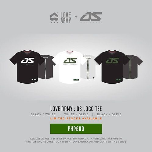 LOVE ARMY x DS LOGO TEE