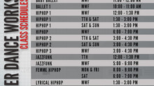 2nd Batch Schedules for Summer Dance Workshops | ACTS Academy