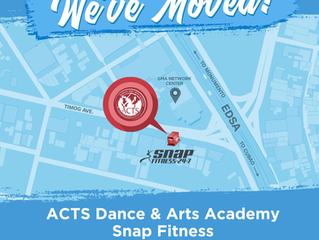 ACTS STUDIO NEW LOCATION