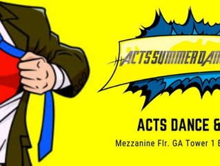 ACT SUMMER DANCE & FITNESS WORKSHOPS THIS APRIL 2019