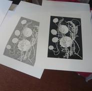 Student's work in progress