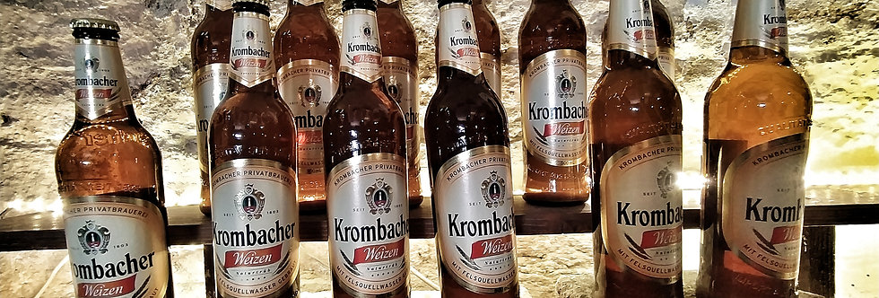 Krombacher Weizen világos búzasör - 9x0,5l