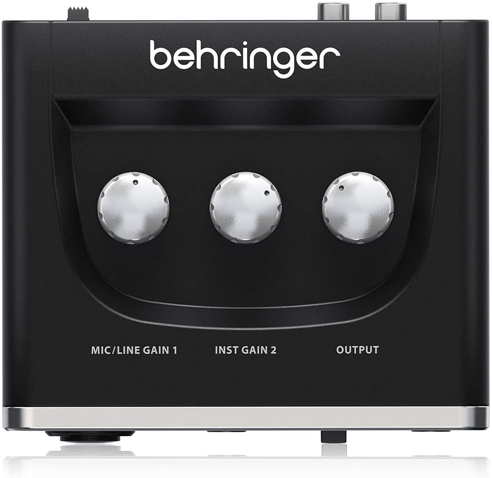 INTERFAZ DE AUDIO BEHRINGER