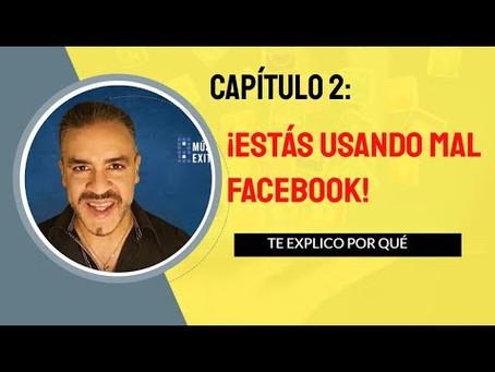 Video de formación #2: Estás usando mal facebook