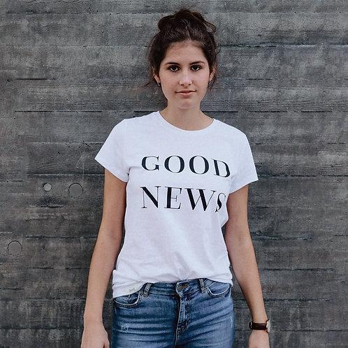 GOOD NEWS T-Shirt Damen