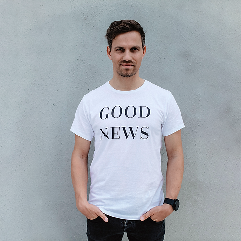 GOOD NEWS T-Shirt Herren