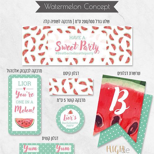 Watermelon Concept