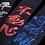 Thumbnail: 赤 クラリーノトンボ柄竹刀袋 3本入