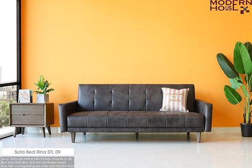 Sofa bed rina PU leather