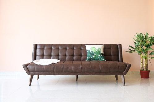 Sofa bed Avon PU leather