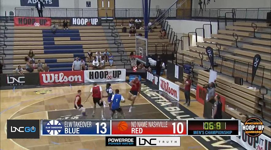 BNC presents Kevin Garnett's Hoop It Up Juneteenth Jamboree men's and women's champions