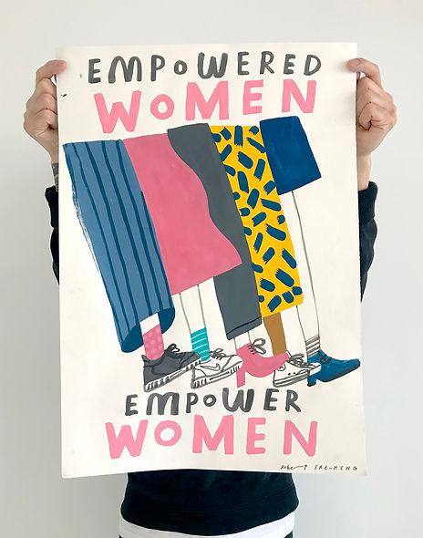 Robert Sae-Heng Empowered Women Print Ho