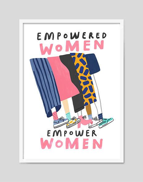 Robert Sae-Heng Empowered Women Print Fr