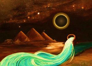 The Full Moon Total Lunar Eclipse in Aquarius