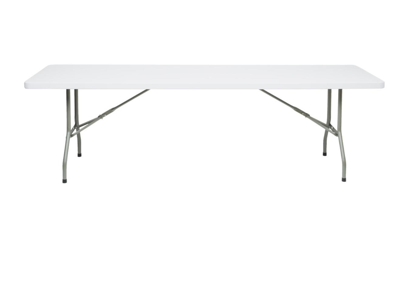 White Rectangular Tables