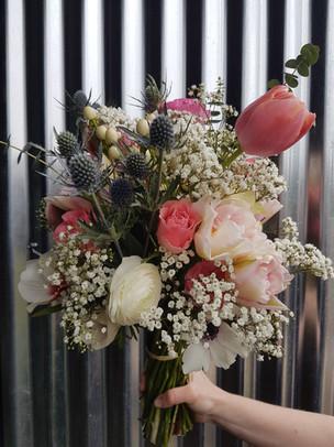 black-shed-wedding-bouquet-spring-flower