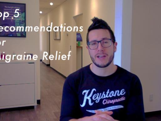 5 Tips for Migraine Relief