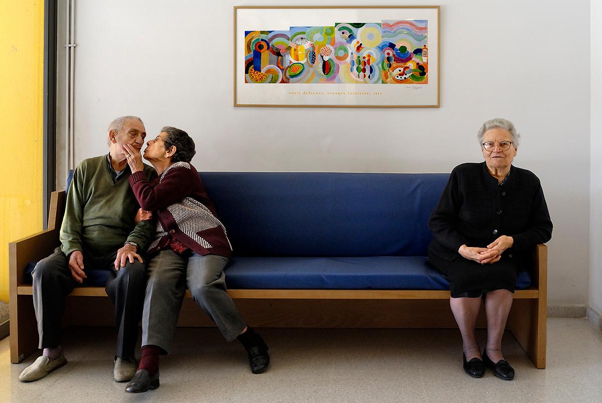 Josep amigo, Maria Lopez y Celia Pertega