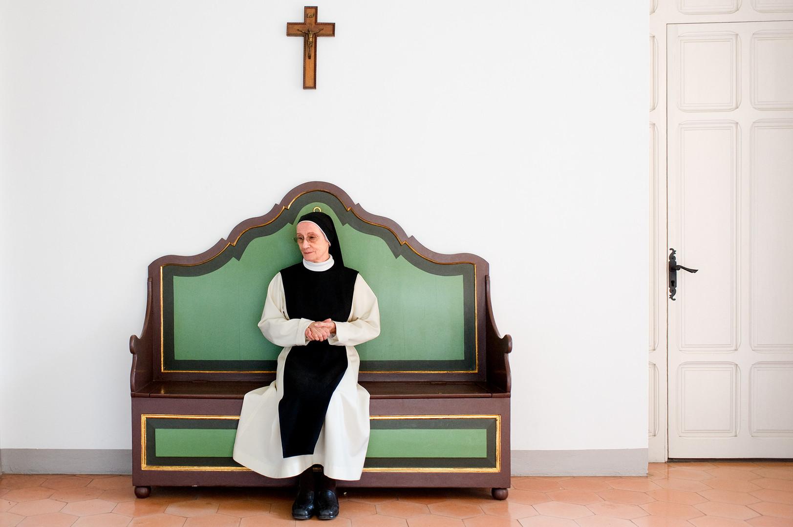 Madre superiora Nuria Illas convento cis