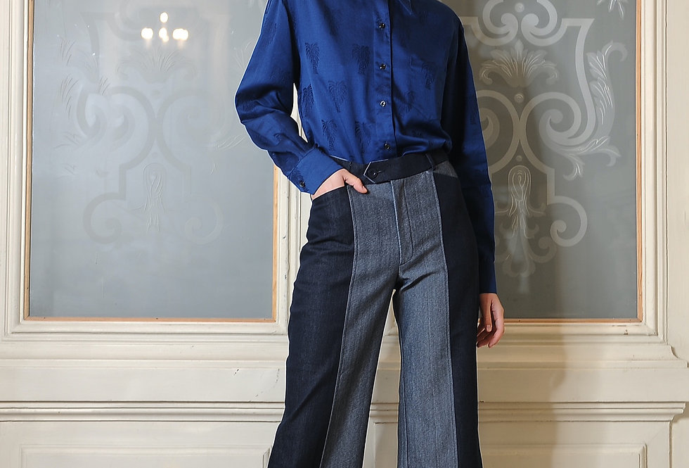 Grace denim trousers
