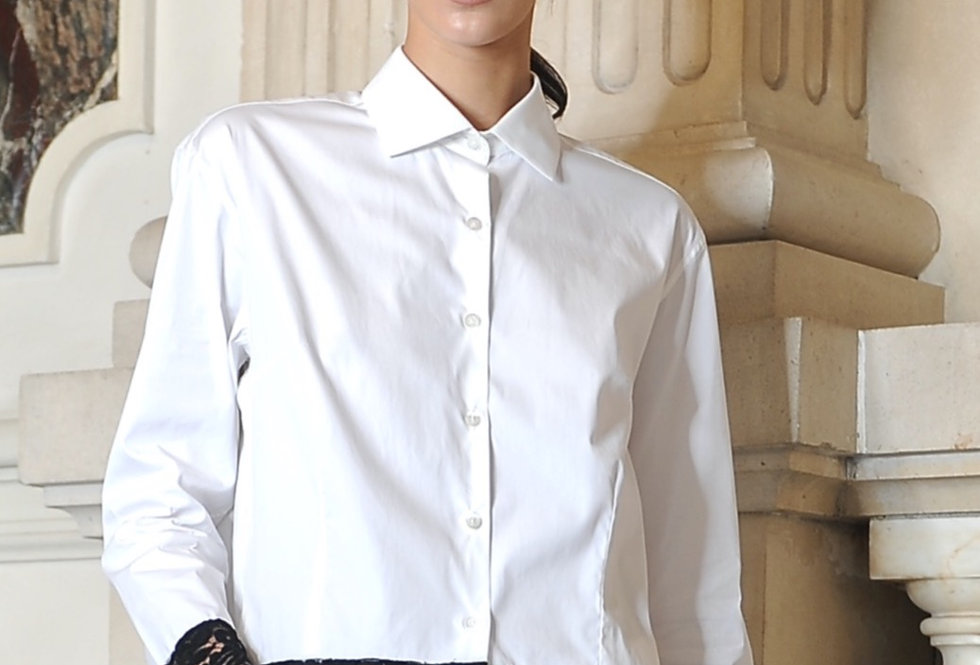 Maya shirt in white
