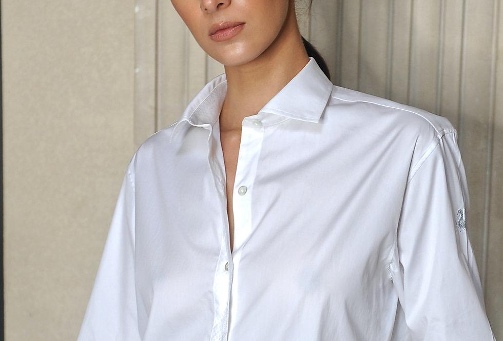 Karnit shirt in white