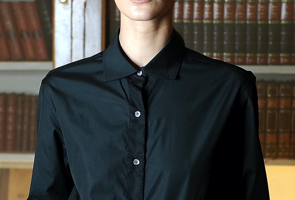 Karnit shirt in black