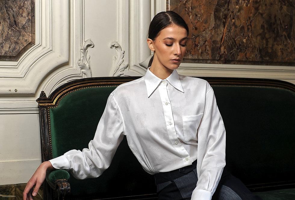 Eilat shirt in white