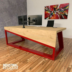 Mesa Industrial (Vermelha)