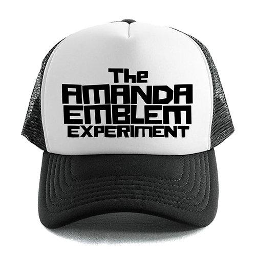 Amanda Emblem Trucker Cap