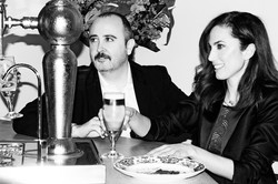 Areces y Toni Acosta