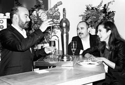 Areces, Corbacho y Toni Acosta