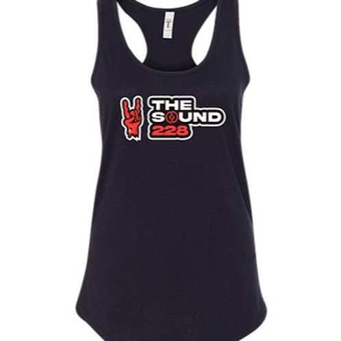 The Sound 228 Racer Tank (We Are New Rock Back)