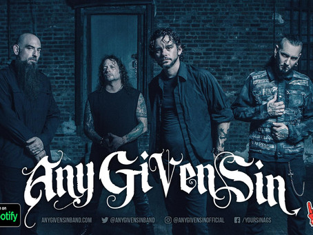 Any Given Sin hits 500K spins with Insidious on Spotify!