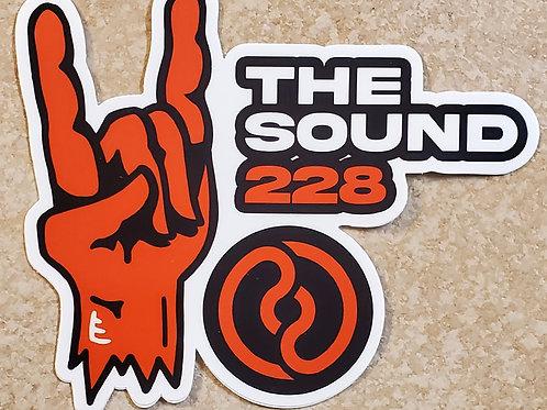 The Sound 228 Sticker