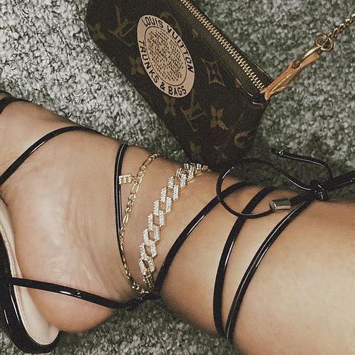 RIO Cuban Anklet