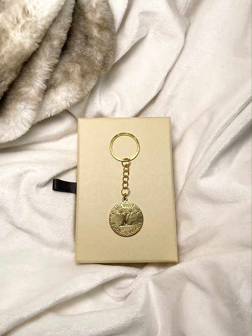 Authentic Reworked Louis Vuitton Keyring