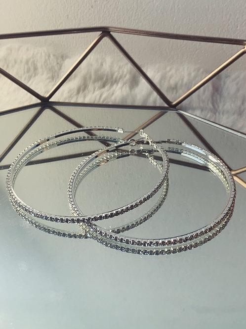 SANTEE Diamond Hoops