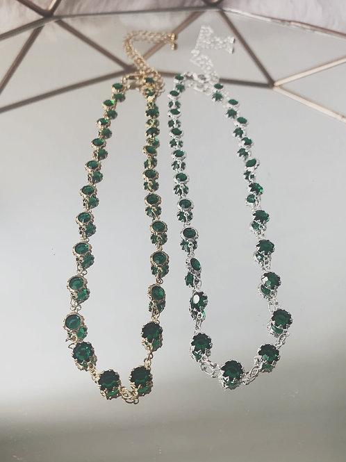 CALI Emerald Choker