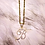 Thumbnail: AYR Iced Initial Pendant Necklace