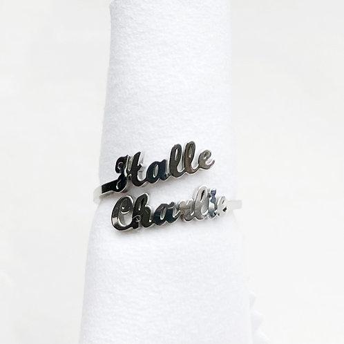BARI Personalised Ring