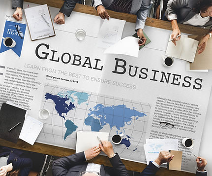 Global Business Export Import Networking