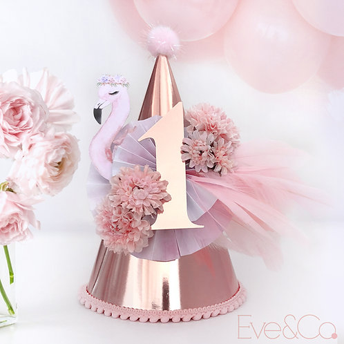 Flamingo Party Hat