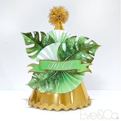 Tropical Vibes Party Hat